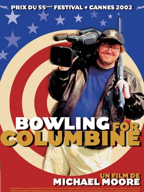 a thought provoking film in bowling for columbine by michael moore