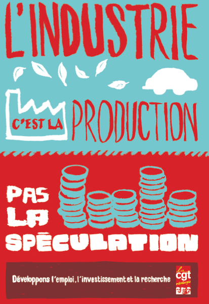La CGT force de propositions industrielles